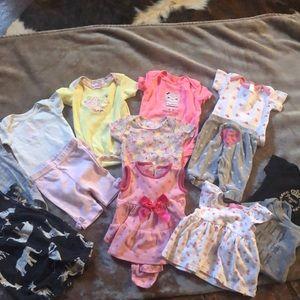 Baby girl clothes bundle!